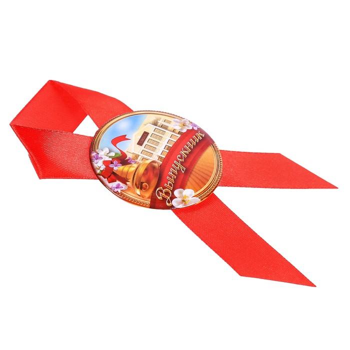 """Значок с лентой """"Выпускник"""""""