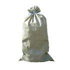 Мешок полипропиленовый 55 х 92 см, серый с завязками, 50 кг