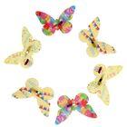 """Набор декоративных бабочек «С Днём Рождения!"""", 16,5 х 11,5 см"""