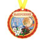 """Медаль магнит """"Выпускник"""""""