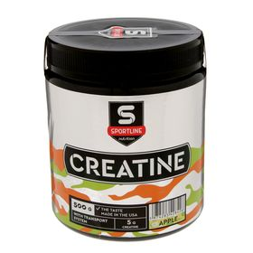 Креатин SportLine Creatine with Transport System, яблоко, 500 г
