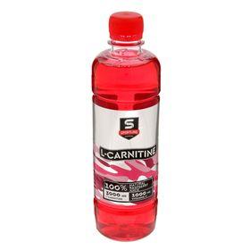 Напиток SportLine c L-Карнитином, малина, 3000 мг + 500 мл