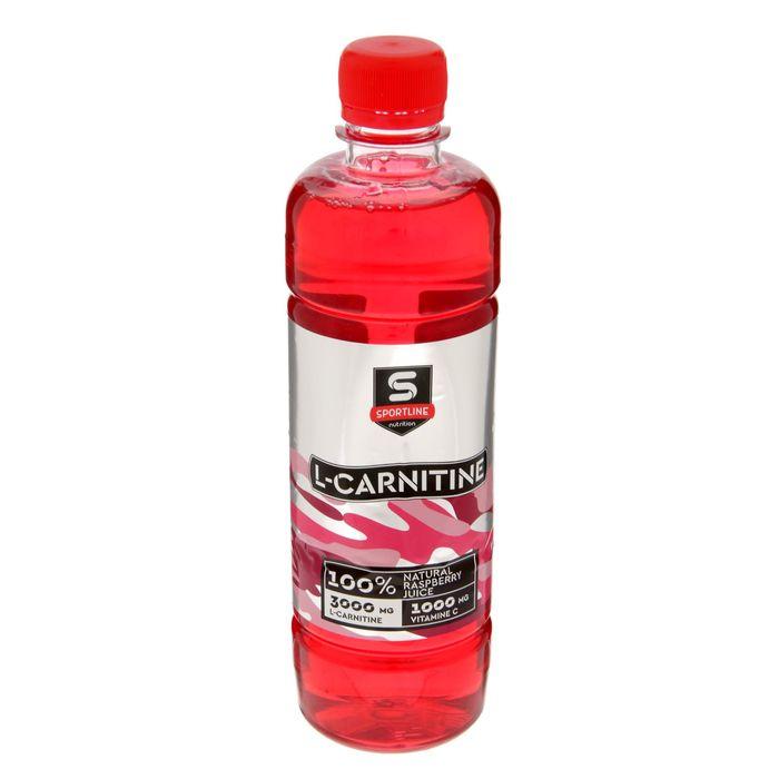 Напиток SportLine c L-Карнитином 3000mg 500ml (Малина)