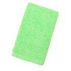 Полотенце Collorista однотонное, цвет ярко-зелёный, размер 40х70 см +/- 3 см, 400 гр/м2