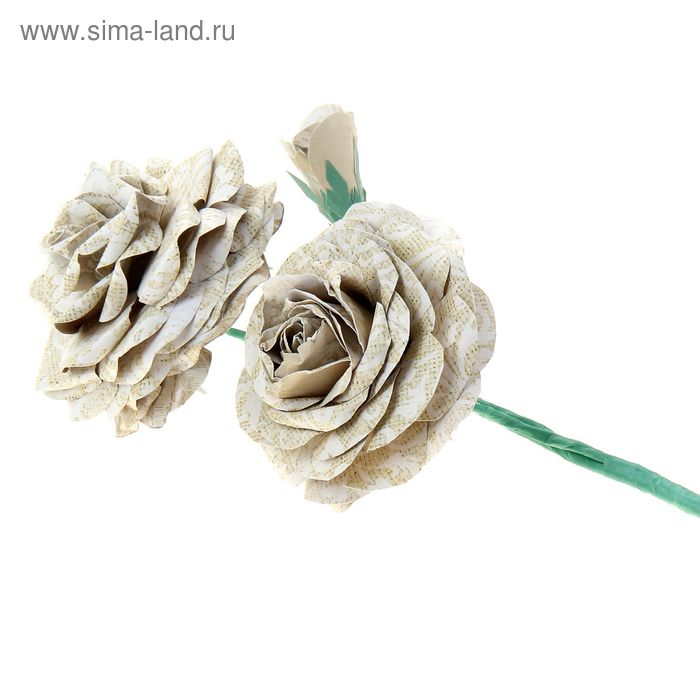 """Набор по созданию цветка """"Букет роз"""", 29,5 х 29,5 см"""