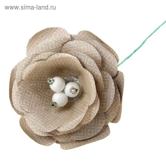 """Набор по созданию цветка """"Крем-брюле"""", 29,5 х 29,5 см"""