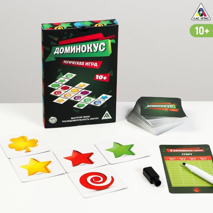 Настольная логическая игра «Доминокус» - фото 105496092