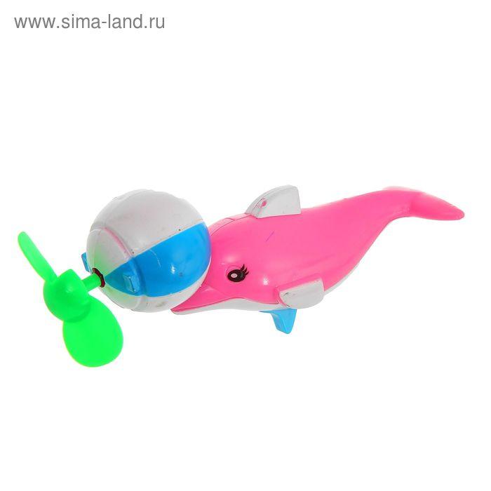 """Вентилятор детский """"Дельфин"""" с мячом, цвета МИКС"""