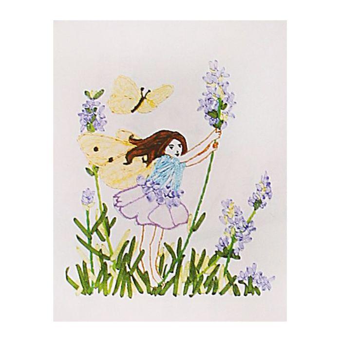 Набор для вышивания лентами «Алиса» размер основы:: 30×30 см