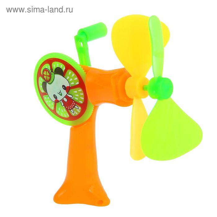 Вентилятор детский, цвета МИКС