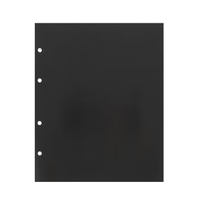 A set of sheets of 10 pieces, 200x250 mm, intermediate, black.