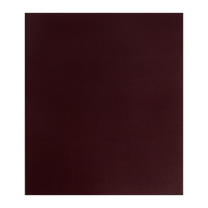 Альбом для значков с листами на ткани, 230х270мм, бумвинил, микс