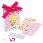 """Набор для создания """"чайных"""" открыток из бумаги """"Принцесса"""" + декор"""