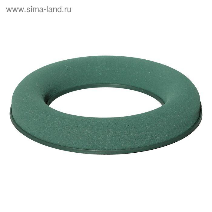 """Губка флористическая """"Виктория"""", кольцо на пластиковой подставке, 17 см"""