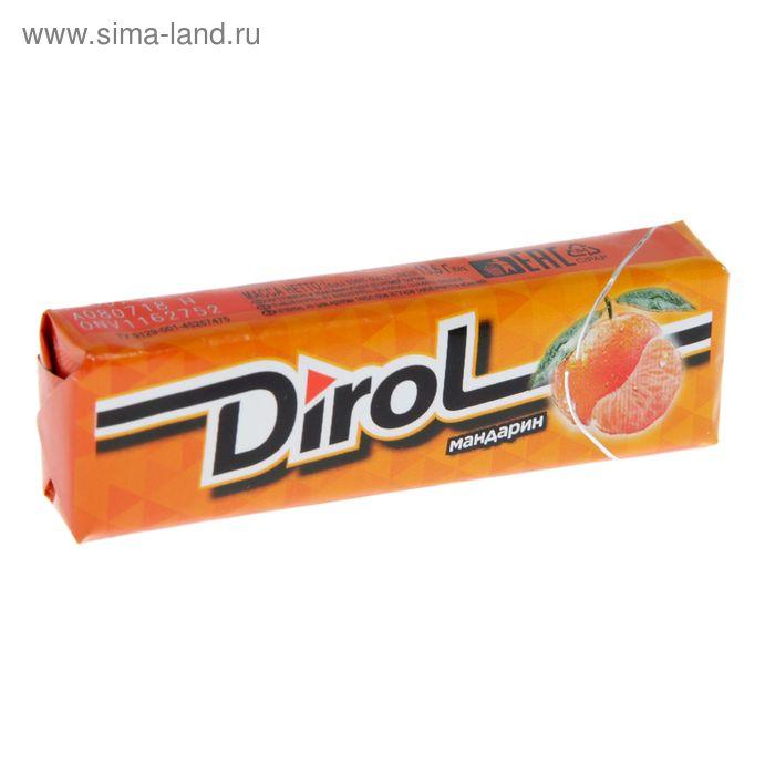 "Жевательная резинка Dirol ""Мандарин"", 13,6 г"