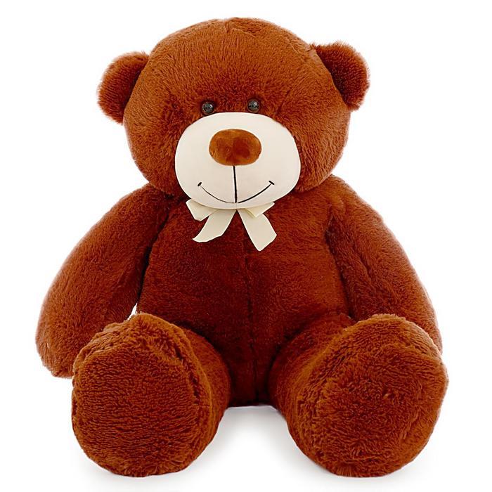 Мягкая игрушка «Мишка Фёдор», 115 см, цвет коричневый
