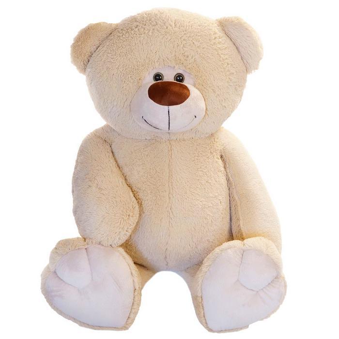 """Мягкая игрушка """"Мишка Веня"""", цвет бежевый, 125 см"""