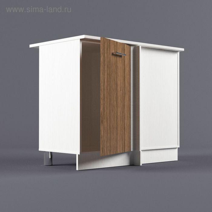Шкаф напольный угловой правый 850*1000*600 Шимо темный