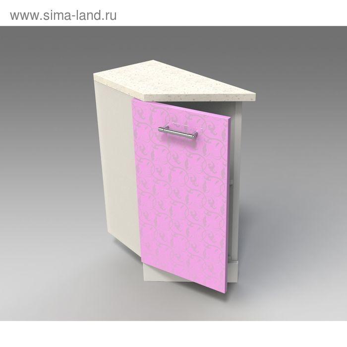 Шкаф напольный  скошенный левый 850*300*600 Ирис