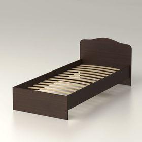 Кровать 90 с орт.основанием Альфа 22 952х761х2038 венге