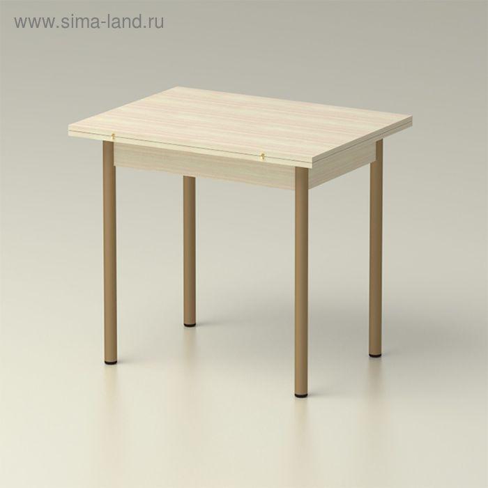 Стол обеденный  раскладной 860х650, дуб млечный