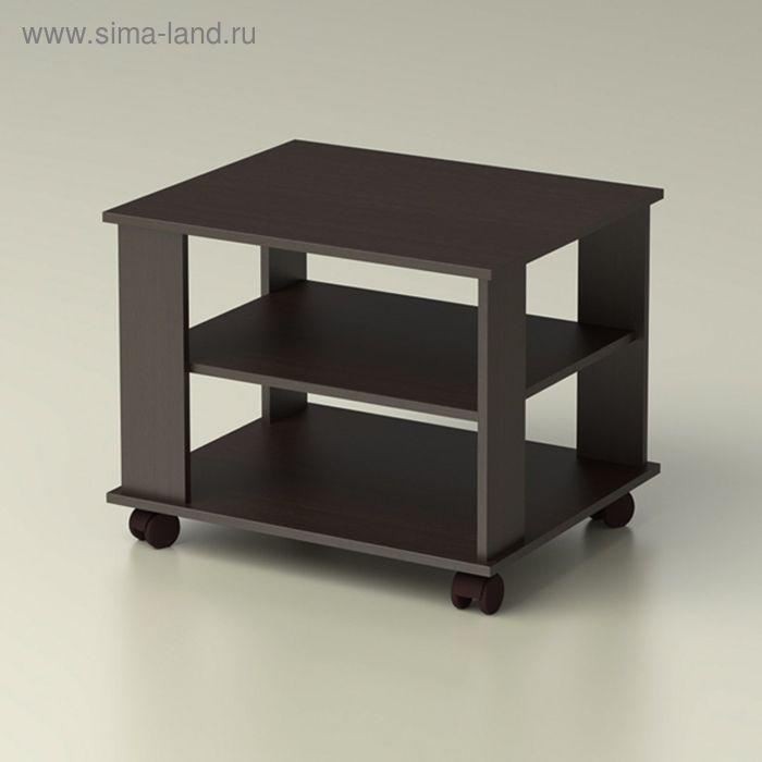"Стол журнальный ""Танго-2"" 690х570х540, венге"