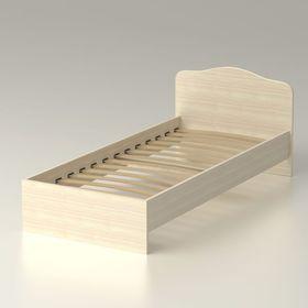 Кровать 90 с орт.основанием Альфа 22 (952х761х2038) - дуб млечный