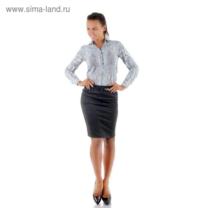 Юбка женская 486, размер 42, рост 170, цвет серый
