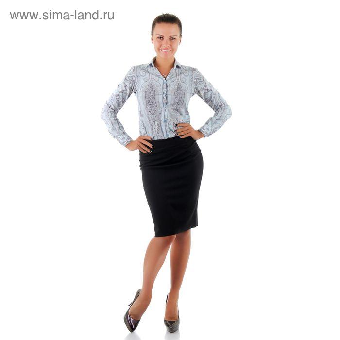Юбка женская 001Б, размер 44, рост 170, цвет черный