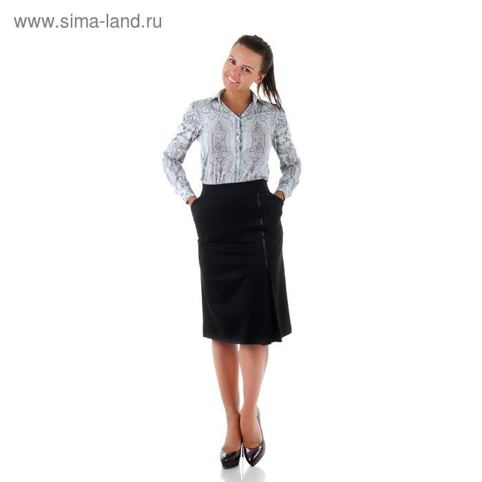 Юбка женская 450 С+, размер 50, рост 170, цвет черный