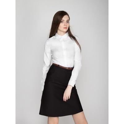 Юбка женская, размер 42, рост 170, цвет чёрный, арт. 324
