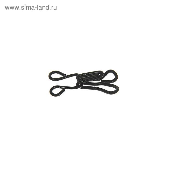 Крючки пришивные, 1шт, № 3, чёрный