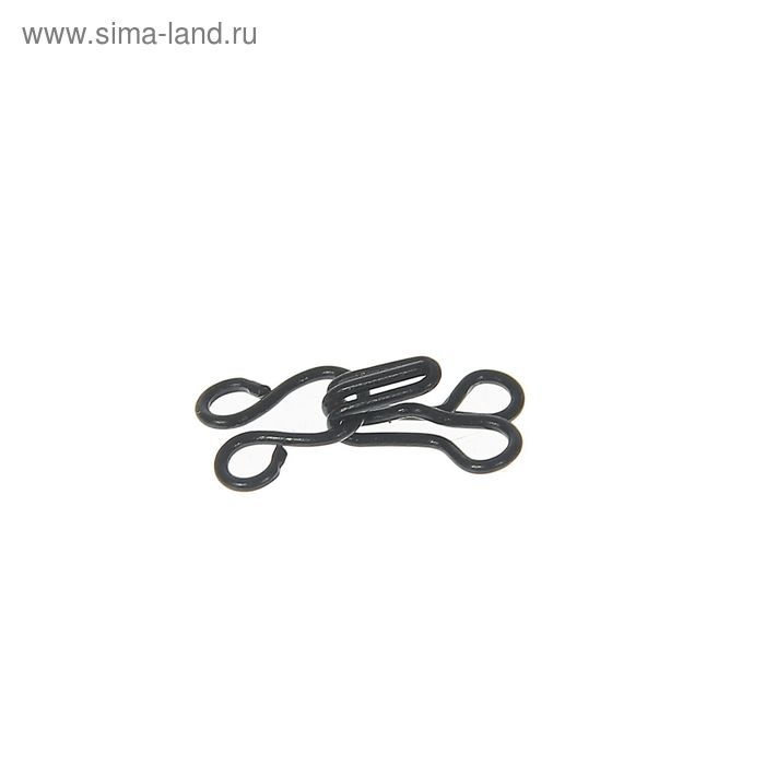 Крючки пришивные, 1шт, № 2 чёрный