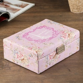 "Jewellery box ""Paris"", pink"