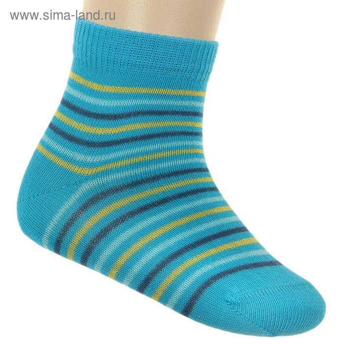 Носки детские ЛС46-2569, цвет бирюзовый, р-р 16