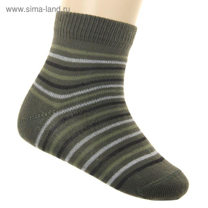 Носки детские ЛС46-2569, цвет болотный, р-р 16
