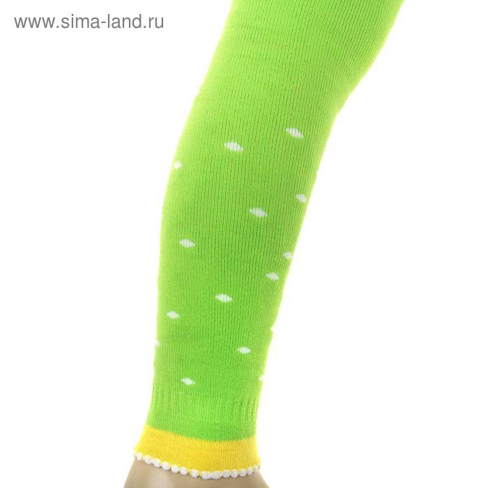 Легинсы детские плюшевые ПЛС16, цвет салатовый, рост 86-92 см