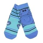 Носки детские плюшевые ПФС102-2531, цвет светло-бирюзовый, р-р 12-14