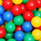 Шарики для сухого бассейна с рисунком, диаметр шара 7,5 см, набор 500 штук, цвет разноцветный - фото 106997709