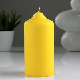 Свеча классическая 7х15 см, желтая - фото 1717988