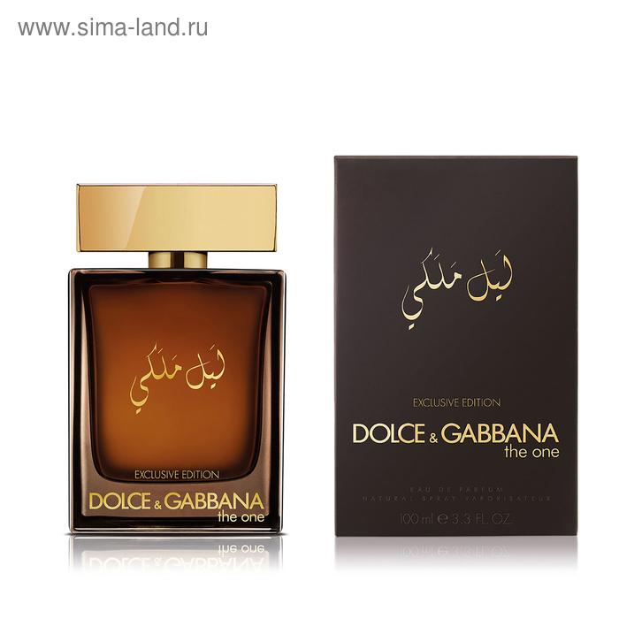 Парфюмерная вода Dolce & Gabbana The One For Men Royal Night, 100 мл