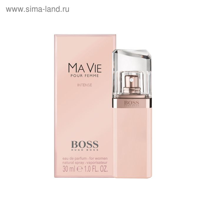 Парфюмированная вода Boss Ma Vie Intense, 30 мл