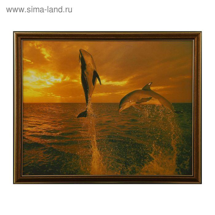 "Картина ""Дельфины"""