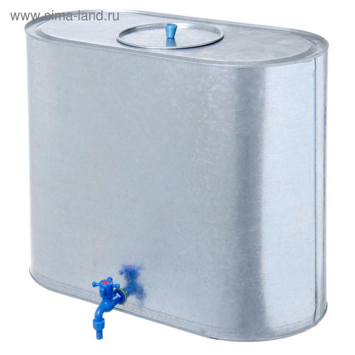 Бак для воды, 100 л, с краном