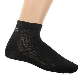 Носки мужские спортивные L-363, цвет черный, размер 25-27 Ош