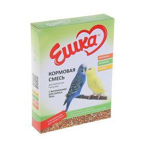 Корм «Ешка» для волнистых попугаев, с витаминами для окраса пера, 500 г