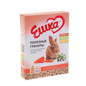 Корм гранулированный «Ешка» для декоративных кроликов, полезные гранулы, 400 г