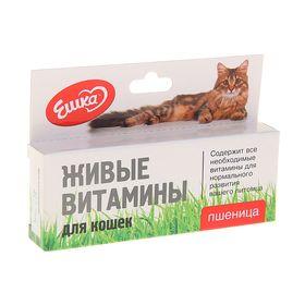 Живые витамины для кошек «Ешка» Пшеница 20 гр Ош
