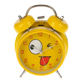 "A clock ""Face"", d=11.5 cm, yellow, with highlight mix"