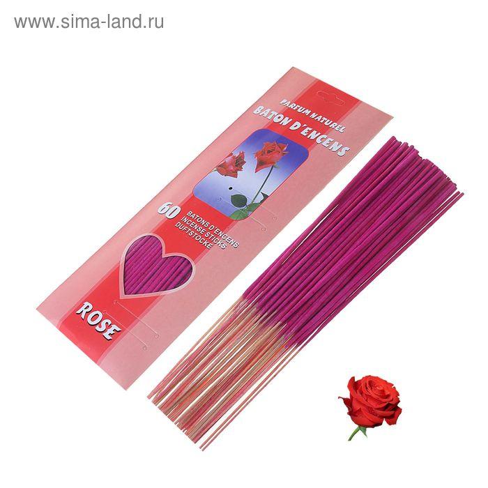 Благовония (60 палочек), аромат роза